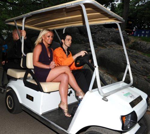 Britney Spears in Club Car