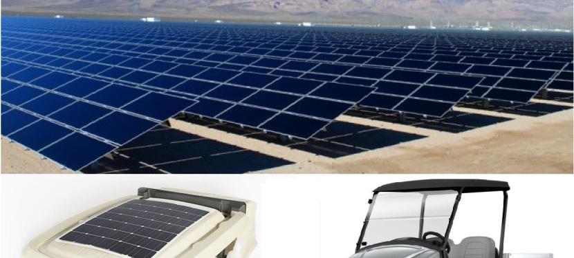 Engie adquiere utilitarios Club Car con paneles solares para Central Solar de Intipampa enMoquegua